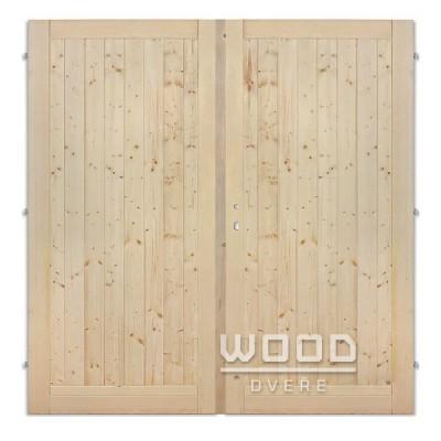 Palubkové dveře dvoukřídlé 125 cm