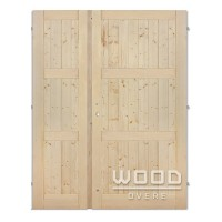 Palubkové dveře dvoukřídlé 145 cm Derde