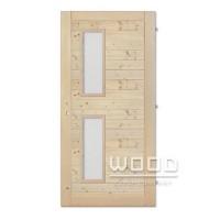 Palubkové dveře Vertikal vodorovné